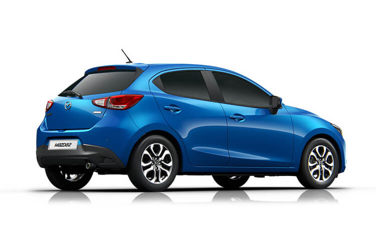 Mazda Mazda2 Hatch 5Dr 1.5 SKYACTIV-G MHEV 90PS Sport Nav 5Dr Manual [Start Stop] back view