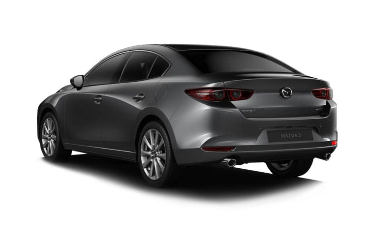 Mazda Mazda3 Saloon 2.0 e-SKYACTIV X MHEV 186PS Sport Lux 4Dr Manual [Start Stop] back view