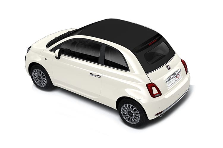 Fiat 500 C Convertible 1.0 MHEV 70PS Dolcevita 2Dr Manual [Start Stop] back view