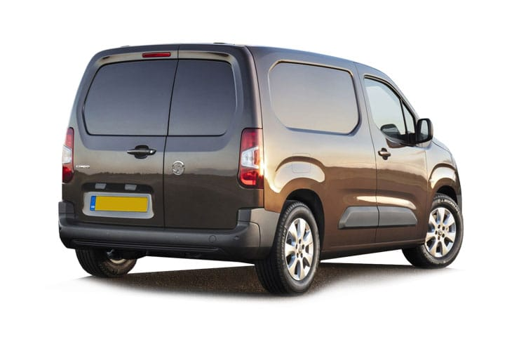 Vauxhall Combo Cargo L1 2300 1.5 Turbo D FWD 130PS Edition Van Manual [Start Stop] back view