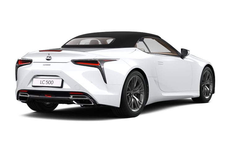 Lexus LC 500 Convertible 5.0 V8 464PS  2Dr Auto back view