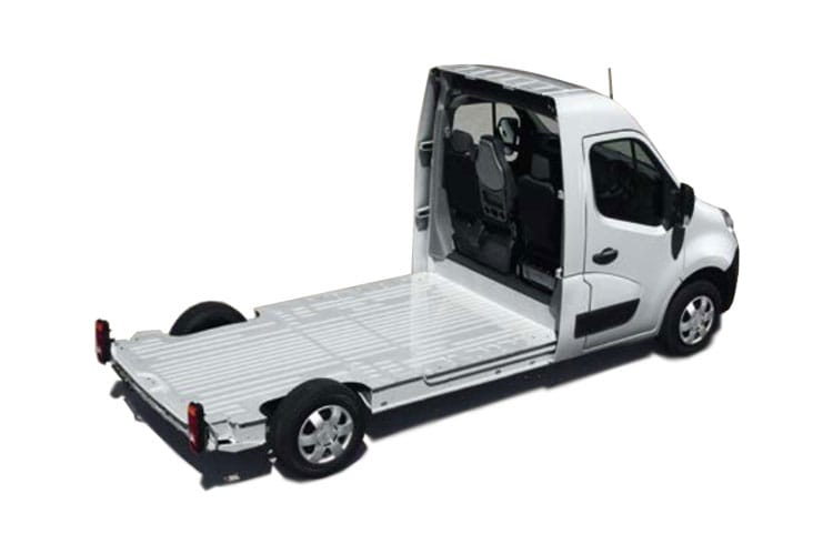Vauxhall Movano F35 L3 2.3 CDTi BiTurbo FWD 135PS  Platform Cab Manual back view