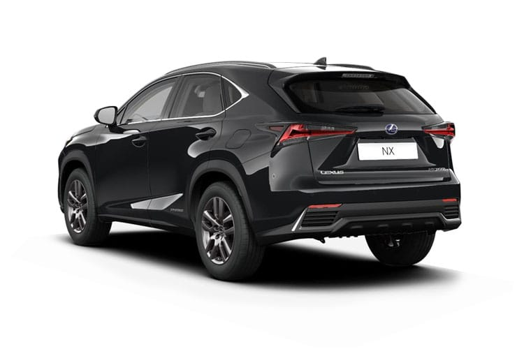 Lexus NX 300h SUV 4wd 2.5 h 197PS NX 5Dr E-CVT [Start Stop] [Premium Plus Pan Roof] back view