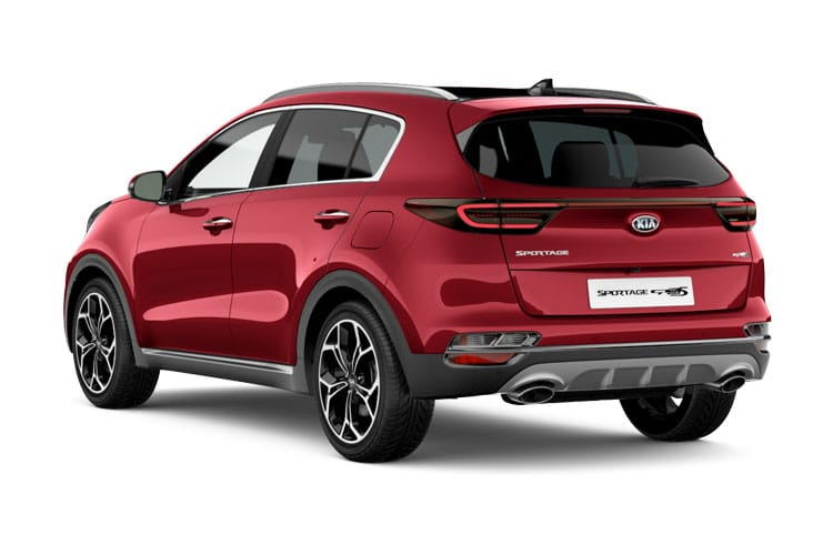 Kia Sportage SUV 2wd 1.6 CRDi MHEV 134PS JBL Black Edition 5Dr Manual [Start Stop] back view