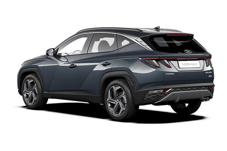 Hyundai Tucson SUV 1.6 T-GDi MHEV 150PS SE Connect 5Dr DCT [Start Stop] back view