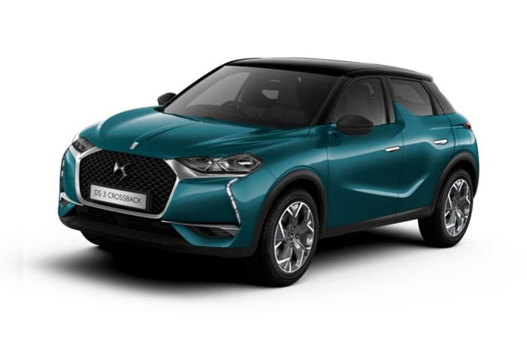 DS Automobiles DS 3 Crossback 5Dr 1.5 BlueHDi 100PS Performance Line 5Dr Manual [Start Stop] front view