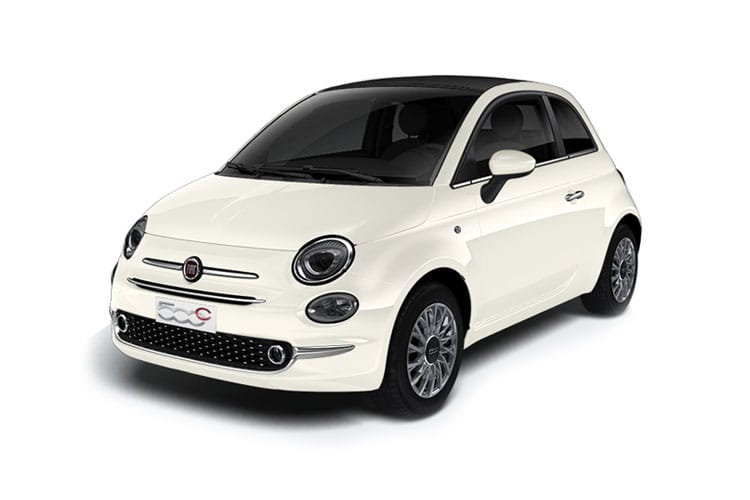 Fiat 500 C Convertible 1.0 MHEV 70PS Dolcevita 2Dr Manual [Start Stop] front view