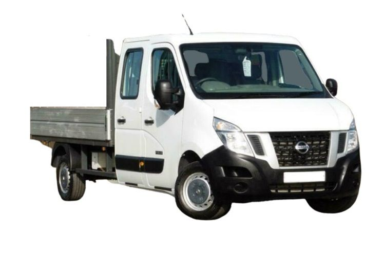 Nissan NV400 L3 35 FWD 2.3 dCi FWD 150PS Tekna Dropside Double Cab Manual [Start Stop] front view