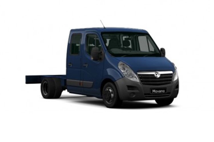 Vauxhall Movano F35 L3 2.3 CDTi BiTurbo FWD 135PS  Chassis Double Cab Manual front view