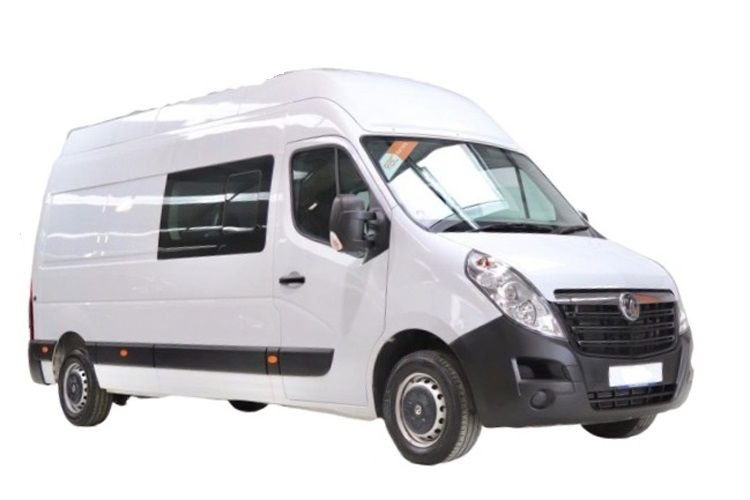 Vauxhall Movano F35 L3 2.3 CDTi BiTurbo FWD 150PS Edition Crew Van Medium Roof Manual [Start Stop] front view