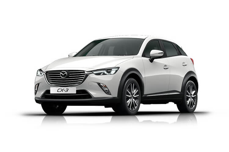 Mazda CX-3 SUV 4wd 2.0 SKYACTIV-G 150PS Sport Nav+ 5Dr Manual [Start Stop] [Stone Lthr Safety] front view