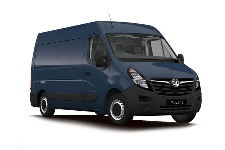 Vauxhall Movano F33 L1 2.3 CDTi BiTurbo FWD 135PS Edition Van Medium Roof Manual front view