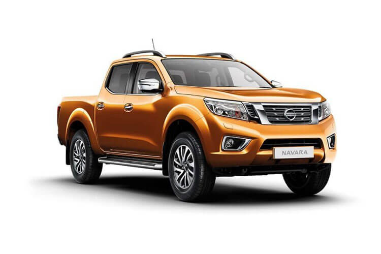 Nissan Navara PickUp DoubleCab 4wdS 2.3 dCi 4WS 190PS N-Connecta Pickup Double Cab Manual [Start Stop] front view