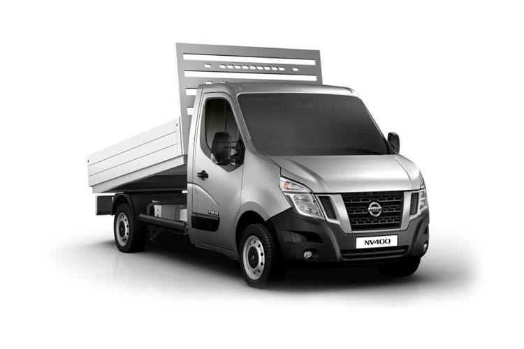 Nissan NV400 L2 35 FWD 2.3 dCi FWD 130PS SE Tipper Manual front view