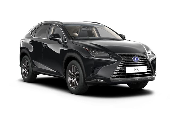 Lexus NX 300h SUV 4wd 2.5 h 197PS NX 5Dr E-CVT [Start Stop] [Premium Plus Pan Roof] front view