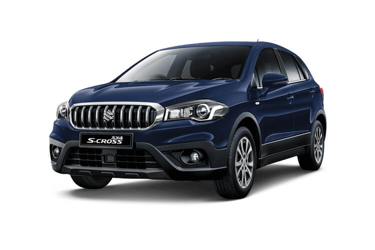 Suzuki S-Cross SUV 1.4 Boosterjet MHEV 129PS SZ4 5Dr Manual [Start Stop] front view
