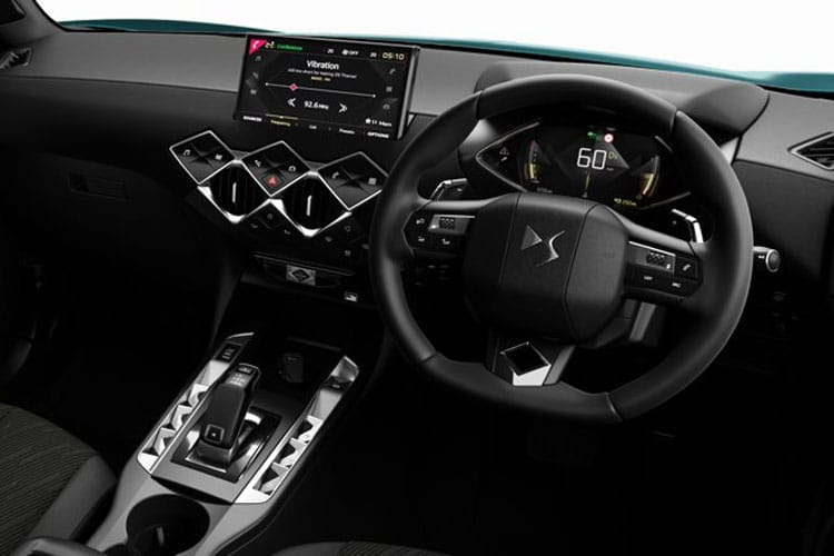 DS Automobiles DS 3 Crossback 5Dr 1.5 BlueHDi 100PS Performance Line 5Dr Manual [Start Stop] inside view