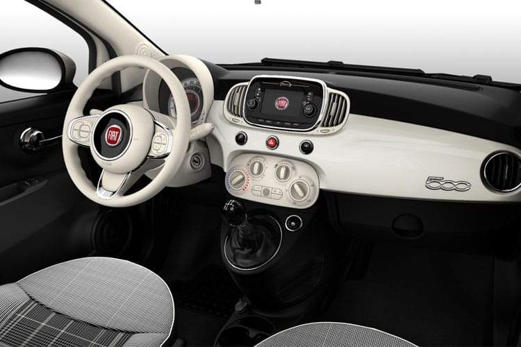 Fiat 500 C Convertible 1.0 MHEV 70PS Dolcevita 2Dr Manual [Start Stop] inside view