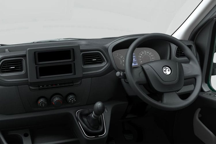 Vauxhall Movano F35 L3 2.3 CDTi BiTurbo FWD 145PS  Box Van Manual [Start Stop] [20m3] inside view