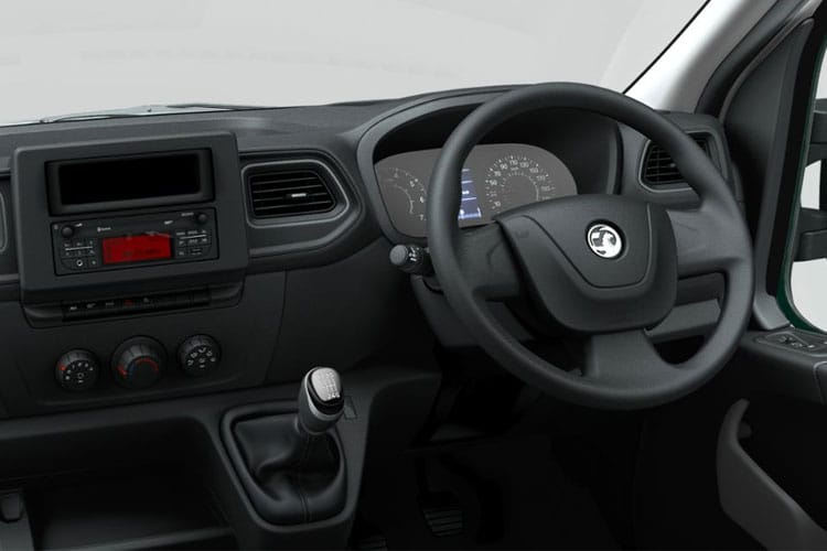 Vauxhall Movano HGV R45DRW L4 2.3 CDTi BiTurbo DRW 165PS  Dropside Manual [Start Stop] inside view