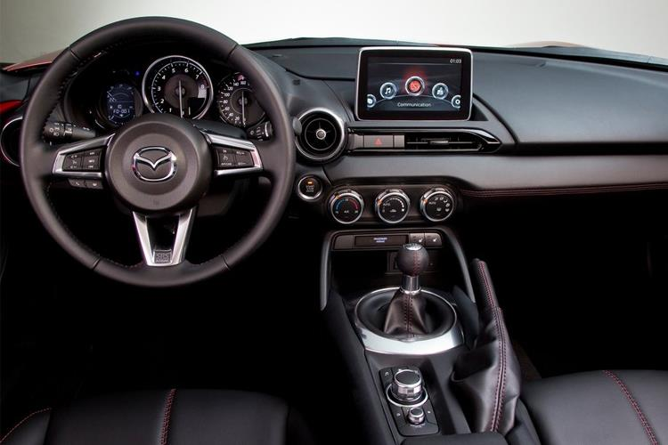 Mazda MX-5 RF 1.5 SKYACTIV-G 132PS Sport 2Dr Manual [Start Stop] inside view