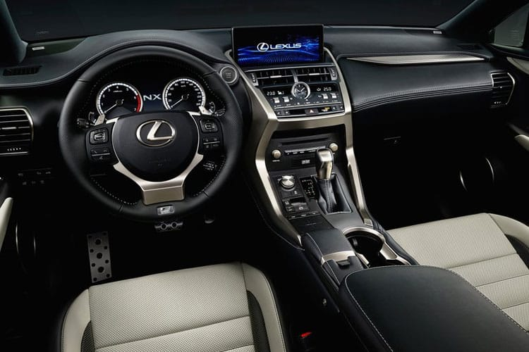 Lexus NX 300h SUV 4wd 2.5 h 197PS NX 5Dr E-CVT [Start Stop] [Premium Plus Pan Roof] inside view