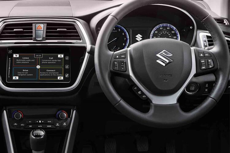 Suzuki S-Cross SUV 1.4 Boosterjet MHEV 129PS SZ4 5Dr Manual [Start Stop] inside view